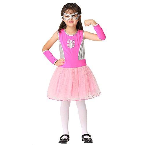 Ytwysj Toddler Baby Kid Girl Halloween Costumes Sleeveless Spider Tutu Dress Halloween Princess Party Cartoon Magic Dress ()