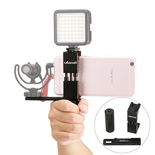 Cheap Stabilizers Ulanzi Smartphone Filmmaker Video Rig, Metal Phone Tripod Mount with Hot shoe..