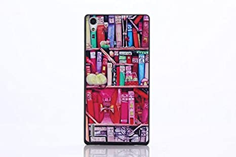 fc57e89b603 ... o patrón teléfono móvil funda inteligente diseño color arnt color  brillante domadora inexorablemente para Huawei p7 teléfono: Amazon.es:  Electrónica