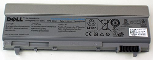 Genuine OEM Dell 9-Cell 90Wh Laptop Notebook Battery Li-Ion Type 4M529 Precision M2400 M4400 M4500 Mobile WS M1RPP N221R TM8K0 VVX2P WG351 XP394 PT650 J905R FU441 KY470 KY471 MP492 MP494 PT653 ()