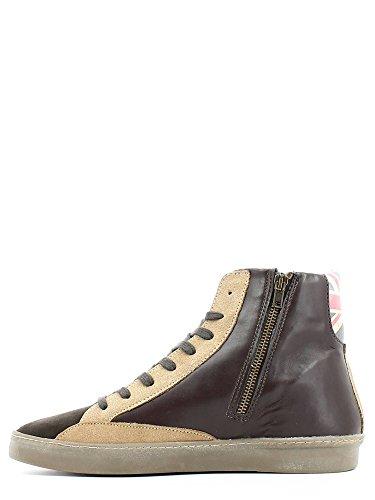 YNOT , Herren Sneaker Braun Marrone Marrone