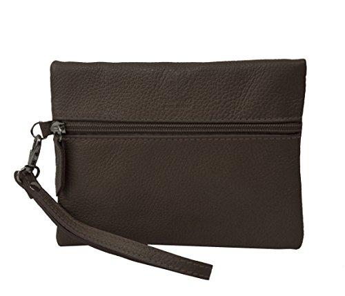 Bags4Less Sahara - Cartera de mano para mujer pardo small gris