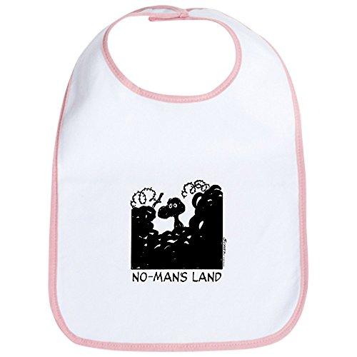 CafePress No-Man's Land Bib Cute Cloth Baby Bib, Toddler Bib