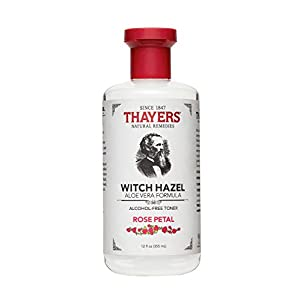 Ratings and reviews for Thayers Alcohol-Free Rose Petal Witch Hazel with Aloe Vera, 12 Fluid Ounce
