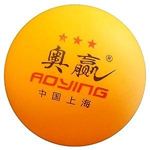 AOYING Tischtennis-Bälle / 3*** Sterne / 24 Stück / Ping Pong Ball / Ideal...