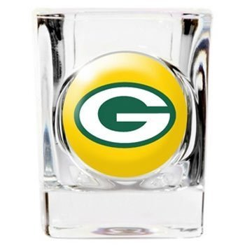 - Green Bay Packers Official NFL 2 fl. oz. Square Shot Glass by Great American Products by Caseys