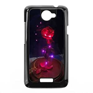 Disneys Beauty And The Beast HTC One X Cell Phone Case Black yyfabc_105075