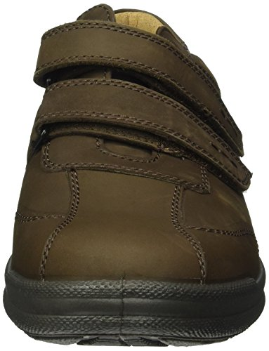 Jomos 419211-12-370 - Zapatos con velcro para hombre Marrón (37-370 santos)