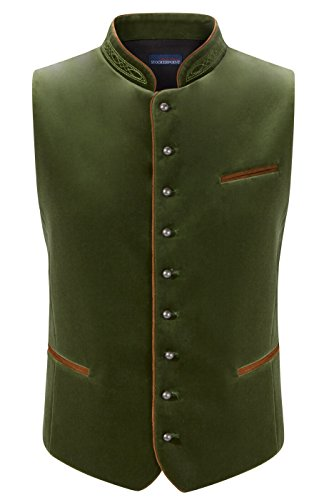 Traditional waistcoat Ricardo mossgreen by Stockerpoint (Image #2)