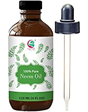 Neem oil 4 oz - Cold pressed, 100% Pure and Organic
