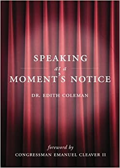 Book Speaking at a Moment's Notice