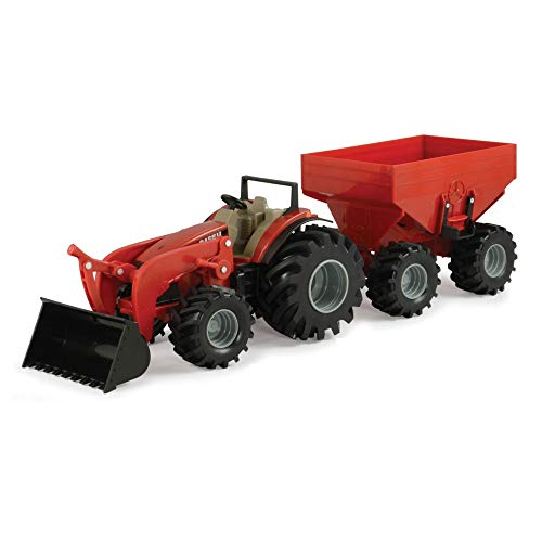 8 Inch Monster Treads Tractor and Wagon 2 Piece Set