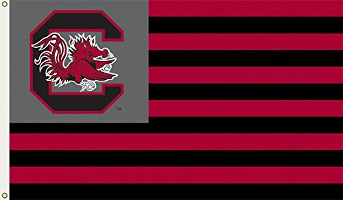 NCAA South Carolina Gamecocks Flag with Grommets 60 x 36in ()
