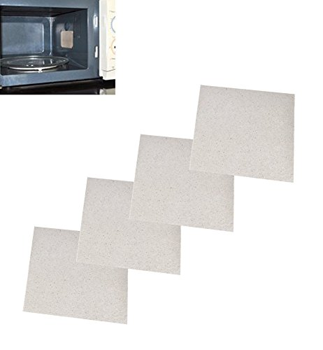 Fashionclubs 4pcs Microwave Oven Repairing Part Mica