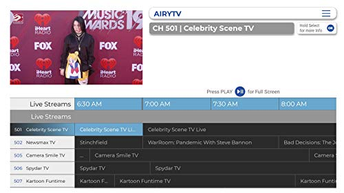 Airy - Free TV & Movie Streaming App Forever