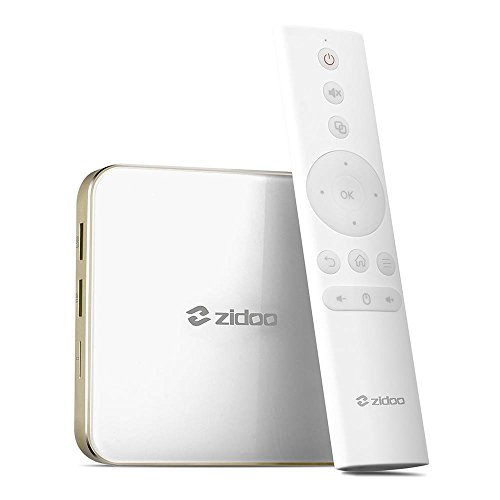 ZIDOO H6 PRO Android 7.0 TV BOX Allwinner H6 Quad-core DDR4 2BG+16GB eMMC 802.11AC WIFI Bluetooth by Zidoo®