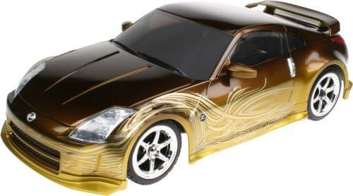 Amazon Com Nikko Toys Rc Nissan 350z Tokyo Drift 27 Mhz Or 40 Mhz 1 16 Scale Toys Games