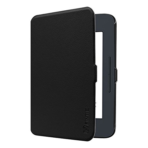 Fintie SlimShell Case for Nook GlowLight 3, Ultra Thin and Lightweight PU Leather Protective Cover for Barnes and Noble Nook GlowLight 3 eReader 2017 Release Model BNRV520