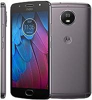 Smartphone Motorola Moto G5S 32GB Grafite XT1794 Dual Chip Tela 5.2 Android 7.1 4G Câmera 16MP + Bolsa de Brinde
