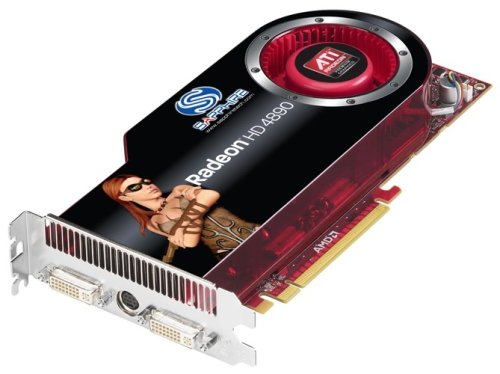 Sapphire Radeon HD 4890 1GB DDR5 Dual DVI/TVO PCI-Express Graphics Card