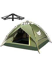 Night Cat Wasserdichtes Campingzelt 2 3 4 Person Sofortige Pop Up Automatische Dome Urlaub Einfache Einrichtungszelt für Outdoor Wandern Doppelschicht