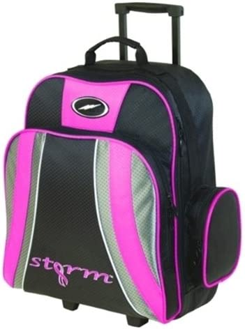 Pink//Black by Storm Bowling Products Storm Rascal 1 Ball Roller Bowling Bag
