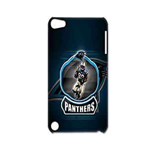 Generic Shells For Ipod Touch 5 Clear Pc Design With Nfl Carolina Panthers For Womon