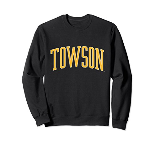 Unisex Towson University Tigers NCAA Sweatshirt 19tw-1 Medium Black (Sweatshirt Tiger Classic)