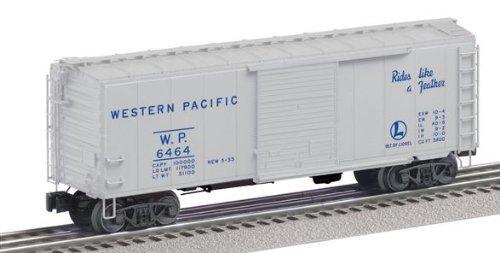 Lionel Postwar Paint Boxcar 2-pack Western Pacific 6464-1, Great Northern 6464-25 (Boxcar Pacific Western)