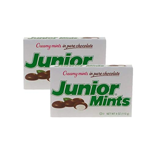 Junior Mints Creamy Mints in Pure Chocolate - 12 boxes, 4 oz each (Pack of 2) by Dealmor (Image #1)
