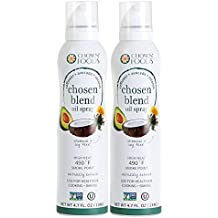 Chosen Blend Oil Spray (Safflower, Coconut, Avocado) 4.7oz (2)