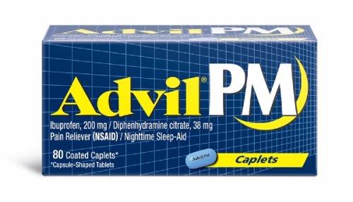 Advil PM Caplets-80ct