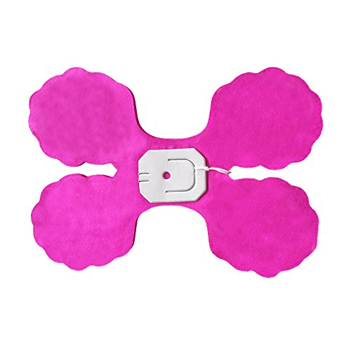 Four-Leaf Clover Garland Tissue Paper Flowers, Tissue Paper Garland, Independence Day Decoration Wedding Party Decor,9.84 Feet/3 M Each, Pack of 3 (Hot Pink)