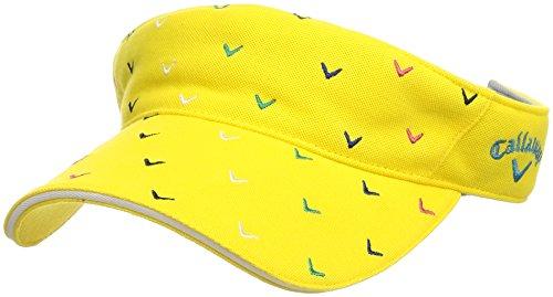 膜規定各(キャロウェイ アパレル) Callaway Apparel [ レディース] 速乾 サンバイザー (サイズ調整) / 241-8184809 / 帽子 ゴルフ