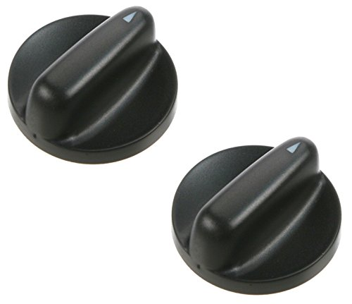 Saab 9-3, 900 Set of 2 Climate Control Switch Knobs with Manual Heater Controls