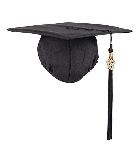 Gold Graduation Hat - 8