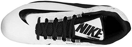 Nike Mens Alpha Strike 2 Tacchetta Da Calcio Tre Quarti Bianco / Nero