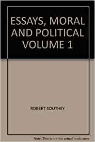 Southey essays moral and political