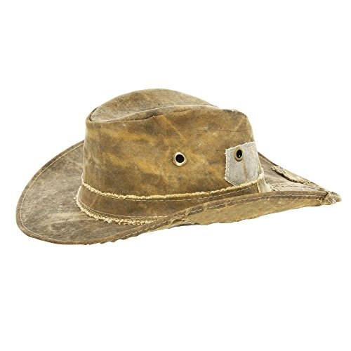 Recycled Tarp - Real Deal Original Tarp Hat (TRDH) (XXL) Tan