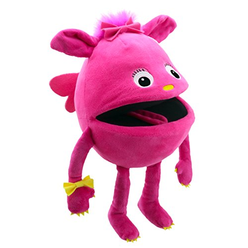 The Puppet Company Baby Monsters Pink Monster Hand Puppet -