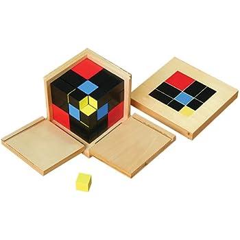 Kid Advance Montessori Trinomial Cube