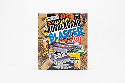 Boy Craft Build Your Own Extreme Rubber Band Blaster Set  17 Piece