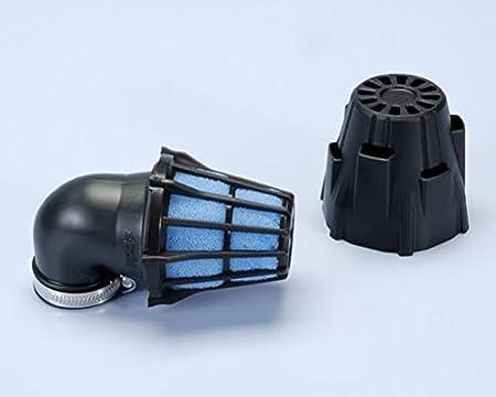 32mm 90/° Luftfilter Polini Kunststoff mit Kappe