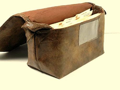 Coupon Organizer Holder Bag Faux Leather Mega Large