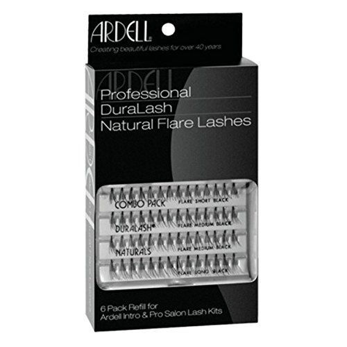 Ardell Professional Individual Lashes Duralash Naturals MEDIUM Lashes 6 Pack Refills