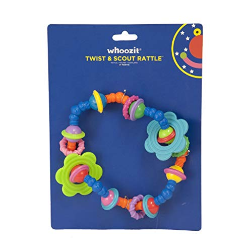 Teether Whoozit (Manhattan Toy Whoozit Twist and Scout Activity Rattle and Teether)