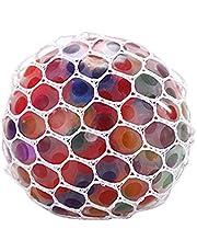 Kaqiqi Bolas de apertar de estresse para crianças com bola de estresse estilo uva para amassar descompressão bolas macias para apertar estresse