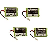 Plantronics 86180-01 Replacement Combo-Pack includes: 4 x SDHS-P907 Batteries
