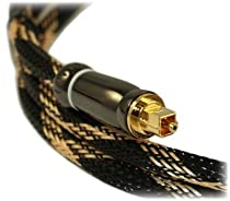 12ft Premium Toslink Digital Optical Audio Cable (S/PDIF)