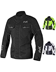 Adventure/Touring Motorcycle Jacket For Men Textile Motorbike CE Armored Waterproof Jackets ADV 4-Season